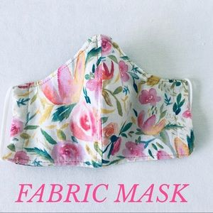 Accessories - FACE MASK FABRIC FACE MASK PASTELS PINK 💯%…